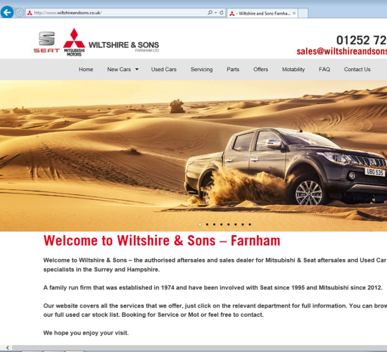 Wiltshire & Sons (Farnham) Ltd