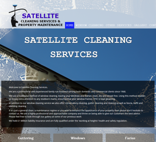 Satellite Cleaning Services