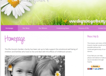Ella Gracie's Garden – Website Update