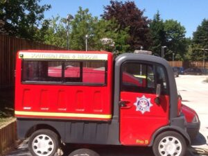 Southern Fire and Rescue Mini Fire Engines Web Development